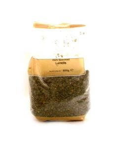 Dark Speckled [Puy] Lentils | Buy Online at the Asian Cookshop